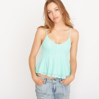 Flared Lace Cami