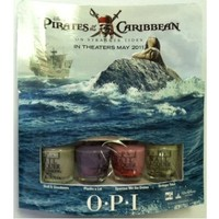 OPI Pirates of the Carribean Mini Nail Lacquer Set, 1 Set