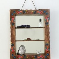 UrbanOutfitters.com > Hand Painted Mirrored Shelf