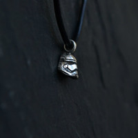 Stormtrooper Star Wars Necklace, Sci Fi Geeky Nerdy Star Wars Jewelry Gift For Him For Her, 925 Sterling Silver