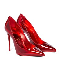 CHRISTIAN LOUBOUTIN So Kate 100 patent leather pumps
