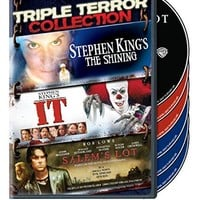 Steven Weber & Rebecca De Mornay & Mick Garris & Mikael Salomon-Triple Terror Collection: (Stephen King's The Shining (1997) / It (1990) / Salem's Lot (2004))