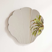 Shell Mirror | Urban Outfitters