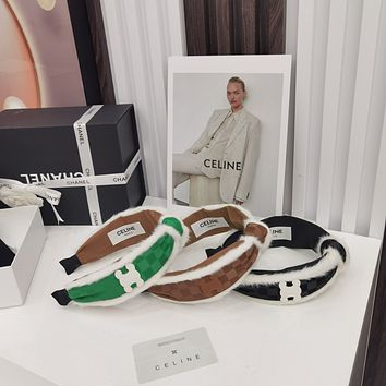 (celine) the latest hair hoop in autumn and winter