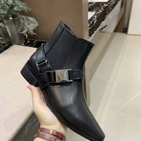 Prada Women Fashion Boots fashionable Casual leather Breathable Sneakers Running Shoes Sneakers