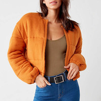 Out From Under Allie Quilted Puffer Cardigan | Urban Outfitters