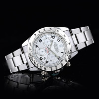 Rolex Fashion Solid Color Dial Men's and Women's Casual Business Steel Band Watches