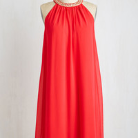 Sleeveless Shift Dabble in Bedazzling Dress by ModCloth