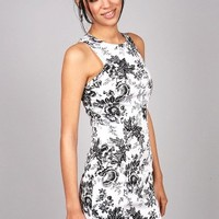Floral Shade Dress   Dresses at Pink Ice