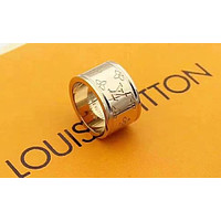 Louis Vuitton LV New Fashion Letter Women Men Ring Accessories