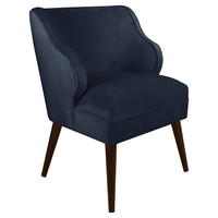 Kira Chair, Navy, Accent & Occasional Chairs