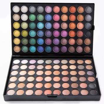 Cosmetic 180 Colours Pearl Matte 3 Layers Eye Shadow Palette