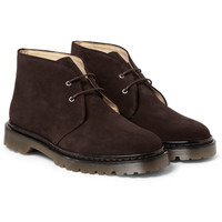 A.P.C. - Suede Chukka Boots   MR PORTER