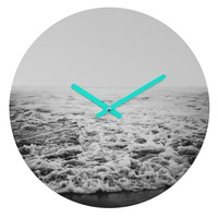 Leah Flores Infinity Round Clock