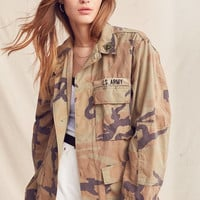 Vintage Washed Camo Jacket | Urban Outfitters