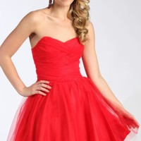 Strapless Sweetheart Dress by Josh and Jazz