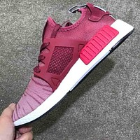 Adidas XR1 XR2 MASTERMIND MMJ NMD TUBULA Knit Mesh Breathable Casual Shoes F-CSXY rose red