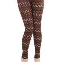ModCloth Rustic Long Skinny See the Bright of Day Leggings