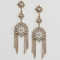 Liars & Lovers State Star Statement Earrings at asos.com