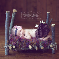 Newborn Photography Prop Bed Baby Photo Prop by NewbornPhotoProp
