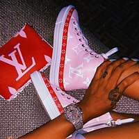 shosouvenir Louis Vuitton LV High Top Sneakers