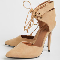 Rand Lace-Up Heels