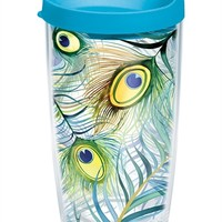 Peacock Wrap with Lid   16oz Tumbler   Tervis®