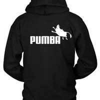 The Lion King Pumba Hoodie Two Sided