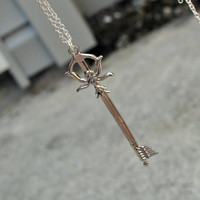 Fairy Harp  Kingdom Hearts Keyblade necklace