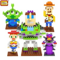 LOZ Toy Story Action Figures Diamond building blocks Educational Toys for Children Christmas gifts toys for children For kids 8+