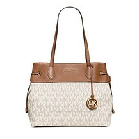 Michael Kors Marina North South Large Drawstring Tote
