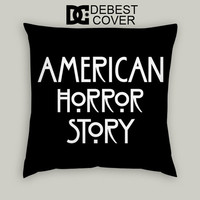 American Horror Story Pillow Cases Square Available In 16 x 16 Inches 18 x 18 Inches 20 x 20 Inches
