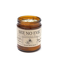 See No Evil Scented Herbal Candle (9oz)