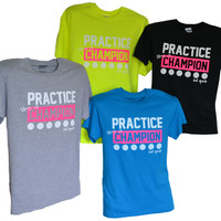 Practice Like a Champion Volleyball T-shirt