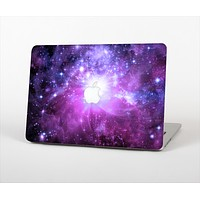 """The Violet Glowing Nebula Skin Set for the Apple MacBook Air 13"""""""