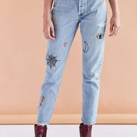 AGOLDE X UO Jamie High-Rise Jean - Rescued Crush - Urban Outfitters