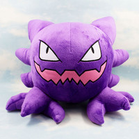 30cm Pokemon Plush Toys Haunter Cute Soft Stuffed Animal Toy Figure Collectible Doll Children Christmas Gift