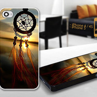 PCFH019 beauty dream catcher - Custom Design For iPhone 5 Plastic And iPhone 4 / 4S Case Cover - Black / White Cases