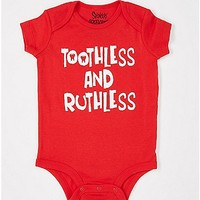 Toothless and Ruthless Baby Bodysuit - Spencer's