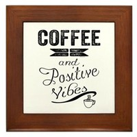 Coffee and Positive Vibes Framed Tile> Coffee and Positive Vibes> Sheldon To Mr Darcy Art by Alice Flynn
