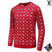 Louis Vuitton tide brand men and women casual fashion top sweater pullover F