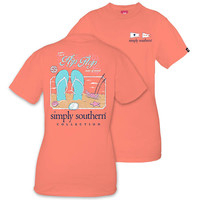 Simply Southern Preppy Flip Flop State Of Mind T-Shirt