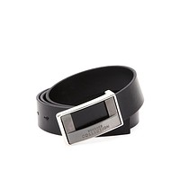 Versace Collection Men's Leather Adjustable Belt