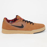 Nike Sb Paul Rodriguez 9 Cs Mens Shoes Natural/Red  In Sizes