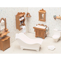 dollhouse furniture kit-bathroom