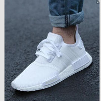 """Women """"Adidas"""" Fashion Trending Beige And Gray Leisure Running Sports Shoes white"""