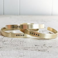 Squad Cuff (Set of 3)