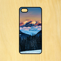 Beautiful Mountain Tree Snow Phone Case iPhone 4 / 4s / 5 / 5s / 5c /6 / 6s /6+ Apple Samsung Galaxy S3 / S4 / S5 / S6