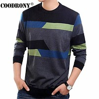 O-Neck Sweater Men Clothing Mens Sweaters Wool Cashmere pullover Men Brand Pull Casual
