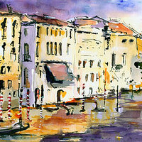 Dreaming Of Venice Canale Grande by Ginette Callaway